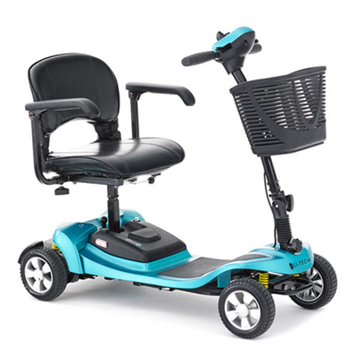 Li-Tech Air Travel Mobility Scooter - Lithium Ion Battery, Suspension